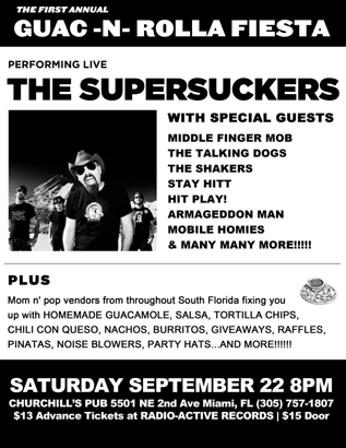 Supersuckers at Churchill's Pub